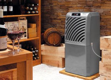 Wijnkelder klimaatsysteem voor grote wijnkelders, SP100