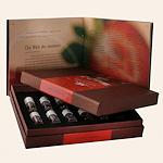 Wijngeuren Aromabar, wijnaroma's. Train uw neus in het herkennen van wijngeuren.