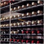 Wijnrek van metaal, professionele kwaliteit.