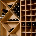 WDD eiken wijnrek op maat!