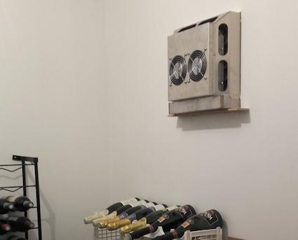 Wijnkelder koelsysteem Solcave 25