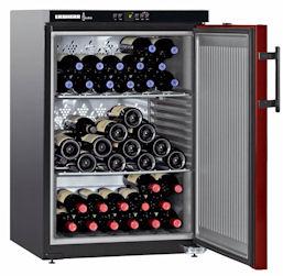 Wijnbewaarkast 66 flessen, Liebherr Wkr 1811