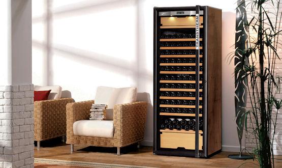 Wijnklimaatkast, wijnbewaarkast, wijnkoelkast, zeer ruime keus.