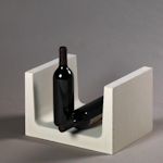 Wijnrek van kalkzandsteen type Frans.